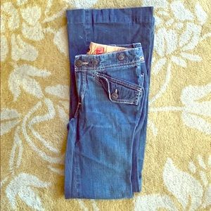 Adriano Goldschmied Bell Bottom Size 23 Jeans
